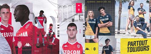camisetas del AS Monaco baratas