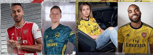 camisetas del Arsenal baratas