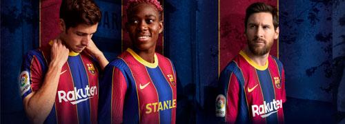 camisetas del Barcelona baratas