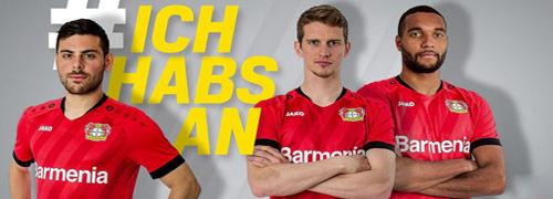 camisetas del Bayer Leverkusen baratas
