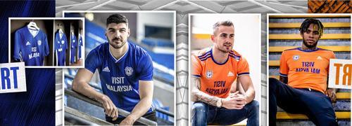camisetas del Cardiff City baratas
