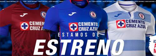 camisetas del Cruz Azul baratas