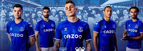 camisetas del Everton baratas