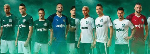 camisetas del Palmeiras baratas