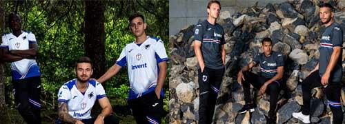 camisetas del Sampdoria baratas