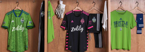 camisetas del Seattle Sounders baratas
