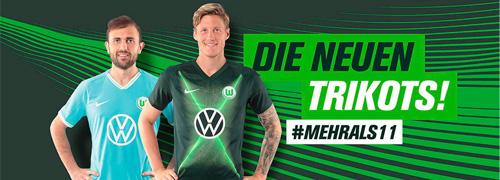 camisetas del Wolfsburg baratas