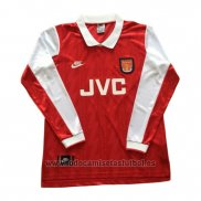 Camiseta Arsenal 1ª Manga Larga Retro 1994-1996