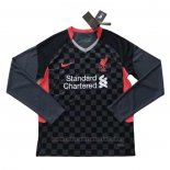 Camiseta Liverpool 3ª Manga Larga 2020-2021
