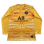 Camiseta Paris Saint-Germain Portero Manga Larga 2019-2020 Amarillo