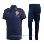 Conjunto Polo Arsenal 2019-2020 Azul