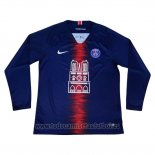 Camiseta Paris Saint-Germain Notre-Dame Manga Larga 2019-2020
