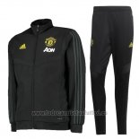 Chandal del Manchester United 2019-202020 Negro