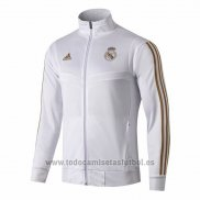 Chaqueta del Real Madrid 2019-202020 Blanco y Oro