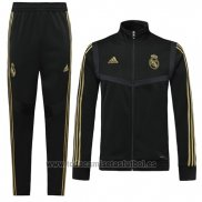 Chandal del Real Madrid Nino 2019-2020 Negro