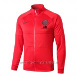 Chaqueta del Paris Saint-Germain 2019-2020 Rojo