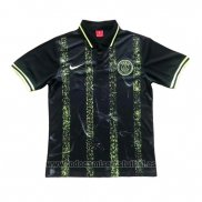 Camiseta Polo del Paris Saint-Germain 2019-2020 Negro y Amarillo