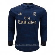Camiseta Real Madrid 2ª Manga Larga 2019-2020
