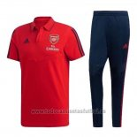 Conjunto Polo Arsenal 202019-2020 Rojo