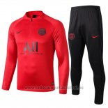Chandal del Paris Saint-Germain 2019-2020 Rojo