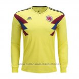 Camiseta Colombia 1ª Manga Larga 2018