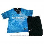 Camiseta Manchester City EA Sports Nino 2018-2019