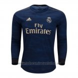 Camiseta Real Madrid 2ª Manga Larga 2019-2020 (2XL-4XL)