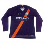 Camiseta Manchester City 3ª Manga Larga 2018-2019