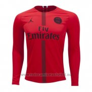 Camiseta Paris Saint-Germain Portero Manga Larga 2018-2019 Rojo