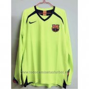 Camiseta Barcelona 2ª Manga Larga Retro 2005-2006