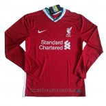 Camiseta Liverpool 1ª Manga Larga 2020-2021
