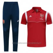 Conjunto Polo Arsenal 2019-2020 Rojo