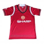 Camiseta Manchester United 1ª Retro 1984
