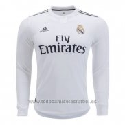Camiseta Real Madrid 1ª Manga Larga 2018-2019