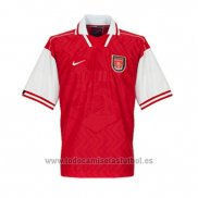 Camiseta Arsenal 1ª Retro 1996-1998