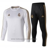 Chandal del Real Madrid 2019-2020 Blanco y Oro