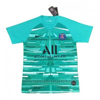 Camiseta Paris Saint-Germain Portero 2019-2020 Azul Tailandia
