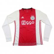 Camiseta Ajax 1ª Manga Larga 2019-2020