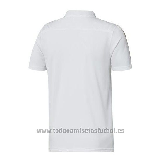 Camiseta Polo del Real Madrid 2019-2020 Blanco y Oro