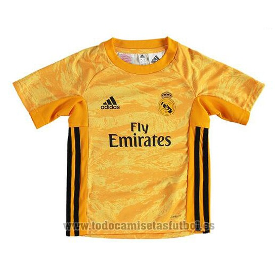 Camiseta Real Madrid Portero 1ª Nino 2019-2020