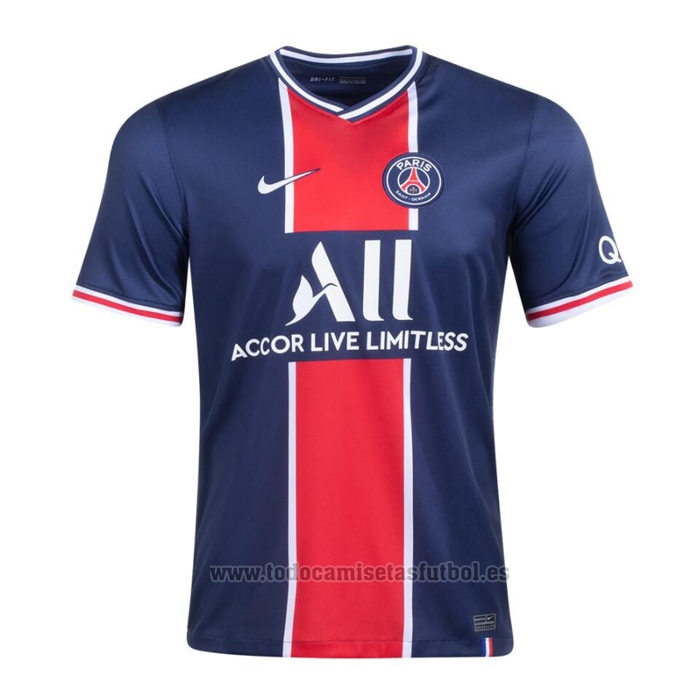 Camiseta Paris Saint-Germain 1ª 2020-2021